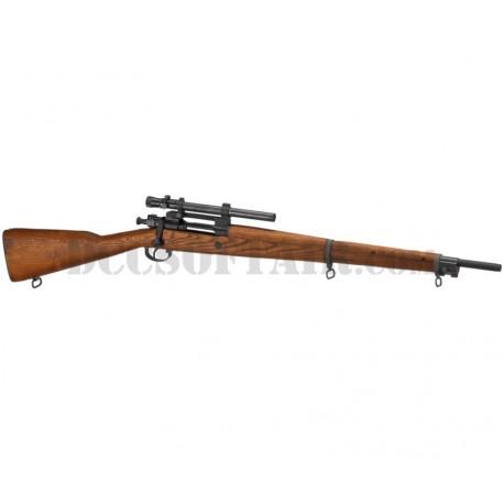 Springfield M1903 A4 Gas Full Metal e Legno WWII G&G