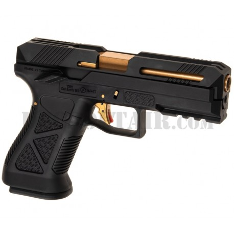 AG-17 Metal Version Gas Black Hfc