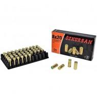 Cartucce a Salve 8mm Ozkursan Conf.50