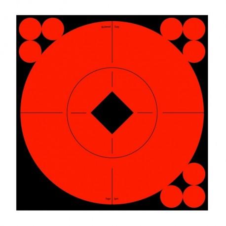 """Bersagli Birchwood Target Spots 6"""" 10 Target"""