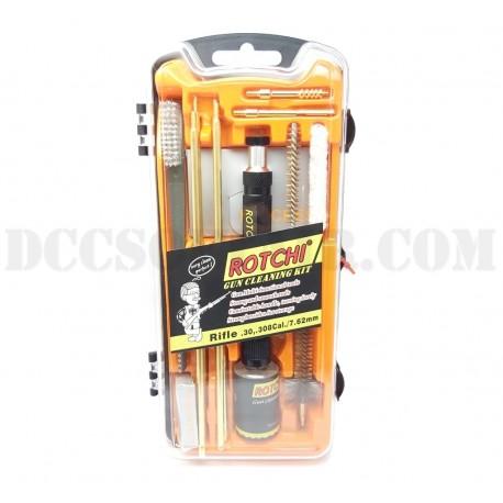 Kit Pulizia Carabine Cal.30/308/30.06 Professionale Rotchi