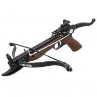 Pistola Balestra MX80 Alluminio e Legno 80lb Poelang