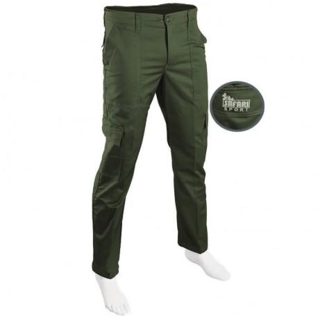 Pantalone S10 Elasticizzato Safari