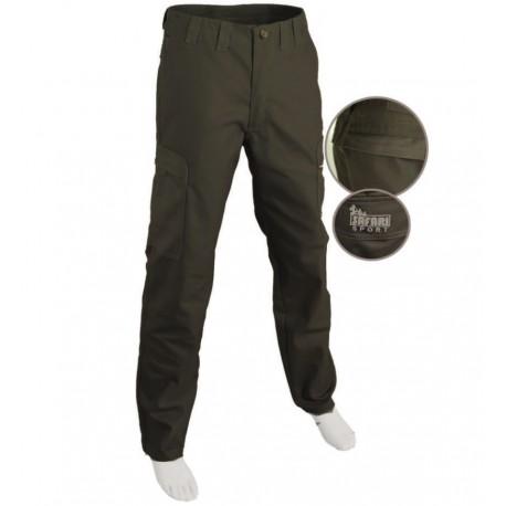 Pantalone F3 In Canvas Safari