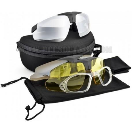 Occhiali Protettivi Tactical 3 Lenti Royal