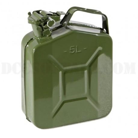 Tanica In Metallo Tipo Militare 5 litri