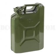 Tanica In Metallo Tipo Militare 10 litri