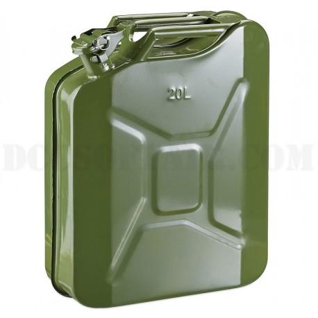 Tanica In Metallo Tipo Militare 20 litri