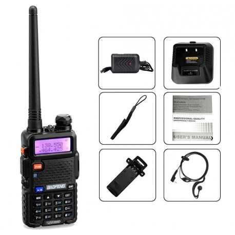 Radio Baofeng UV-5R Dual Band VHF/UHF