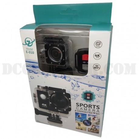 Videocamera E010 4K Wi-Fi Sports Camera