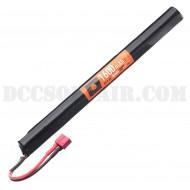 Batteria 9.6Vx1600mAh Stick Type Deans Nuprol