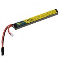 Batteria 7.4Vx1300mAh 25C Lipo Electro River