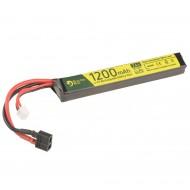 Batteria 7.4Vx1200mAh 25C Lipo Deans Electro River