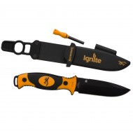 Coltello Ignite Black and Orange Browning