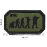 Patch 3D Airsoft Evolution Pvc Con Velcro 101