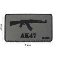 Patch 3D Pvc AK47 101