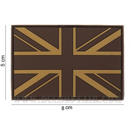 Patch 3D Pvc Bandiera UK Desert 101