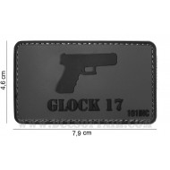 Patch 3D Pvc Glock 17 101