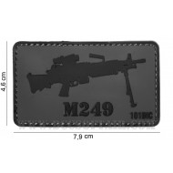 Patch 3D Pvc Minimi M249 101