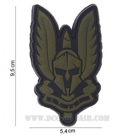 Patch 3D Pvc Spartan 101