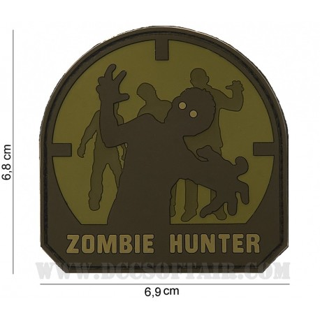 Patch 3D Zombie Hunter Arid 101